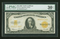 Large Size:Gold Certificates, Fr. 1173 $10 1922 Gold Certificate PMG Very Fine 30 EPQ....