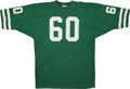 Football Collectibles:Uniforms, 1975 Chicago Winds World Football League Game Used Jersey. ...
