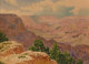 GUNNAR MAURITZ WIDFORSS (Swedish, 1879-1934) A View of the Grand Canyon Watercolor on paper 10 x 13-1/2 inches (25.4