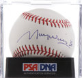 Autographs:Baseballs, Maury Wills Single Signed Baseball PSA Gem Mint 10. ...