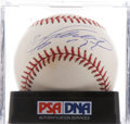 Autographs:Baseballs, Vladimir Guerrero Single Signed Baseball PSA NM-MT 8. ...