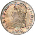 Bust Half Dollars, 1832 50C Small Letters MS65 PCGS. CAC....