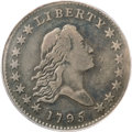 Early Half Dollars, 1795 50C Two Leaves Fine 15 PCGS....