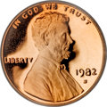 Proof Lincoln Cents, 1982-S 1C PR70 Red Deep Cameo PCGS....