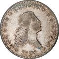 Early Half Dollars, 1795/1795 50C 2 Leaves VF25 ICG....