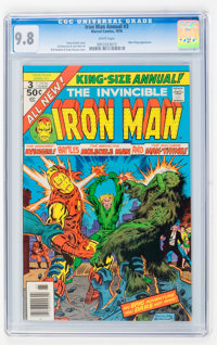 Iron Man Annual #3 (Marvel, 1976) CGC NM/MT 9.8 White pages