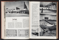 "Exhibitor Book Lot (Jay Emanuel, 1948-49). Hardcover Book (544 Pages, 9.5"" X 12.5"")"