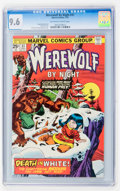 Bronze Age (1970-1979):Horror, Werewolf by Night #31 (Marvel, 1975) CGC NM+ 9.6 Off-white to whitepages....