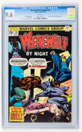 Bronze Age (1970-1979):Horror, Werewolf by Night #29 (Marvel, 1975) CGC NM+ 9.6 White pages....