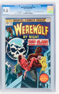 Bronze Age (1970-1979):Horror, Werewolf by Night #30 (Marvel, 1975) CGC NM+ 9.6 Off-whitepages....