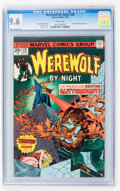 Bronze Age (1970-1979):Horror, Werewolf by Night #28 (Marvel, 1975) CGC NM+ 9.6 White pages....