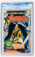 Bronze Age (1970-1979):Horror, Werewolf by Night #26 (Marvel, 1975) CGC NM+ 9.6 Off-white to whitepages....