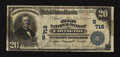 National Bank Notes:Kentucky, Covington, KY - $20 1902 Plain Back Fr. 650 The First NB Ch. #(S)718. ...