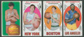 Basketball Cards:Lots, 1969-70 and 1970-71 Topps Basketball Lot of 4. ... (Total: 4 cards)