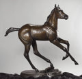 Western:20th Century, VERYL GOODNIGHT (American, b. 1947). Sprite, 2004. Bronze with patina. 65 x 72 x 24 inches (165.1 x 182.9 x 61.0 cm). Ed...