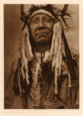 Western:20th Century, EDWARD SHERIFF CURTIS (American, 1868-1952). Two Moons Cheyenne, Plate 213, 1910. from The North American Indian. Po...