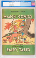 Golden Age (1938-1955):Funny Animal, March of Comics #6 Fairy Tales (K. K. Publications, Inc., 1947) CGCVF- 7.5 Cream to off-white pages....