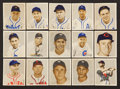 "Baseball Cards:Lots, 1949 Bowman Baseball ""Gray Background"" Collection (15). ..."