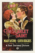 "Movie Posters:Drama, The Scarlet Saint (First National, 1925). One Sheet (27"" X 41"")....."