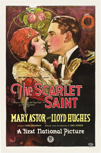 """The Scarlet Saint (First National, 1925). One Sheet (27"""" X 41"""")"""