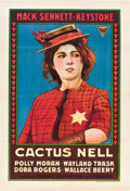 """Movie Posters:Comedy, Cactus Nell (Triangle, 1917). One Sheet (27"""" X 41"""").. ..."""