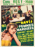 """Movie Posters:Crime, Marked Woman (Warner Brothers, 1937). Pre-War Belgian (24.5"""" X 33"""").. ..."""