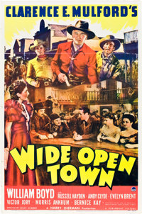 """Wide Open Town (Paramount, 1941). One Sheet (27"""" X 41"""")"""