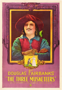 """The Three Musketeers (United Artists, 1921). One Sheet (27"""" X 41"""")"""