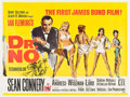 "Movie Posters:James Bond, Dr. No (United Artists, 1962). British Quad (30"" X 40"").. ..."