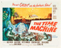 "Movie Posters:Science Fiction, The Time Machine (MGM, 1960). Half Sheet (22"" X 28"") Style B.. ..."