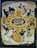 Autographs:Others, 3000 Strikeout Club Multi-Signed Poster. ...