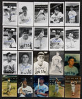 Autographs:Others, Boston Baseball Signed Images Lot of 176....