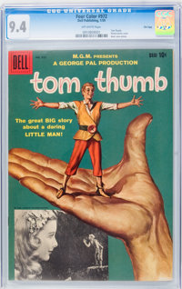 Four Color #972 Tom Thumb - File Copy (Dell, 1959) CGC NM 9.4 Off-white pages