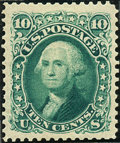 Stamps, 10c Green Re-Issue (106),... (Total: 1 Slab)