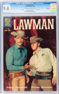 Silver Age (1956-1969):Western, Lawman #3 File Copy (Dell, 1960) CGC NM 9.4 Off-white to whitepages....
