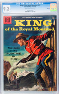 Silver Age (1956-1969):Adventure, King of the Royal Mounted #27 File Copy (Dell, 1957) CGC NM- 9.2 Cream to off-white pages....