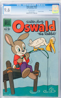 Four Color #979 Oswald the Rabbit - File Copy (Dell, 1959) CGC NM+ 9.6 Off-white pages