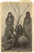 American Indian Art:Photographs, PIMOS (PIMA) INDIANS, ARIZONA . c. 1895. ...