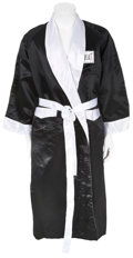 Boxing Collectibles:Autographs, Muhammad Ali Signed Boxing Robe. ...