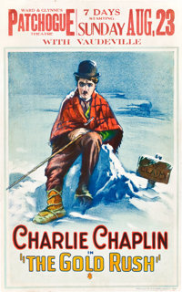 """The Gold Rush (United Artists, 1925). Window Card (14"""" X 22"""")"""