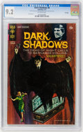 Bronze Age (1970-1979):Horror, Dark Shadows #8 File Copy (Gold Key, 1971) CGC NM- 9.2 Off-whitepages....