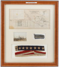 Military & Patriotic:WWI, Interesting Group of Items from the 1928 Cruise of the Battleship USS Texas. ...