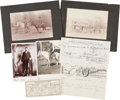 Western Expansion:Cowboy, Historically Significant Group of Items Associated with Sweetwater,Texas, Circa 1890....