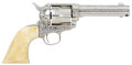 Military & Patriotic:Indian Wars, Really Stunning, Custom-Engraved, Colt Single Action Army Revolver,#161067 Matching....