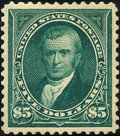 Stamps, $5 Dark Green (278),... (Total: 1 Slab)