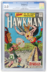 Hawkman #1 (DC, 1964) CGC GD/VG 3.0 Off-white pages