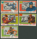 """Football Cards:Lots, 1955 Topps Football """"All American"""" Group of (36)...."""