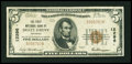 National Bank Notes:Arkansas, Holly Grove, AR - $5 1929 Ty. 1 The First NB Ch. # 12296. ...