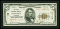 National Bank Notes:Arkansas, Nashville, AR - $5 1929 Ty. 2 The First NB Ch. # 11113. ...