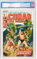 Bronze Age (1970-1979):Adventure, Conan the Barbarian #8 (Marvel, 1971) CGC NM 9.4 Off-white to white pages....